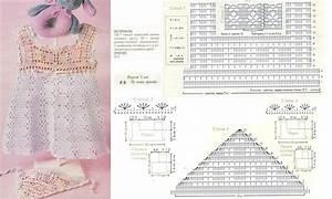 Two toned baby dress crochet pattern ⋆ Crochet Kingdom