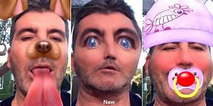 Simon Cowell is finally using Snapchat and the results are ...
