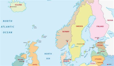 countries  northern europe worldatlascom
