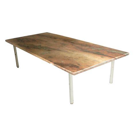 coffee tables 60 quot vintage rojo alicante marble coffee table ebay