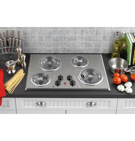 ge  built  electric cooktop jpskss ge appliances