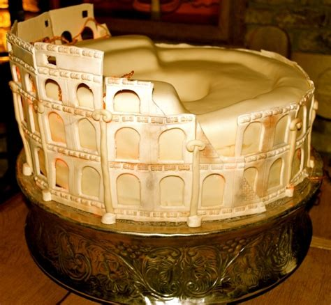 images  colosseum cake  pinterest coins
