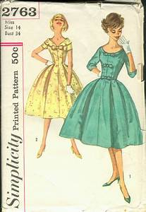 Simplicity 2763 | Vintage Sewing Patterns | FANDOM powered ...