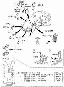 955501e000 - Hyundai Flasher Module
