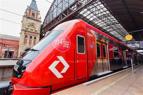 Linha 7 Rubi Recebe Novo Trem Com Vagão Contínuo E Ar