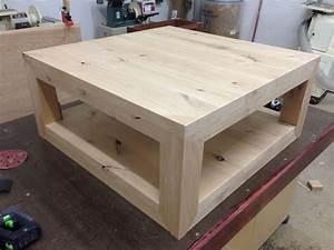 Custom Rustic Coffee Table Knotty Alder by MAD Custom Wood