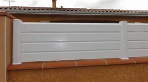 Panneau Pvc Blanc : cloture pvc blanc leroy merlin altoservices ~ Dallasstarsshop.com Idées de Décoration