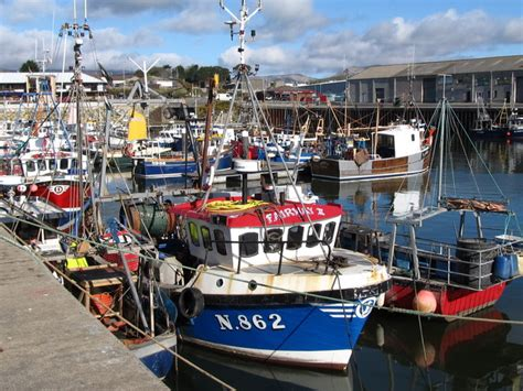 Find A Fishing Boat In Ireland by Small Fishing Boats At Kilkeel Harbour 169 Eric Jones