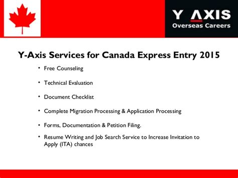 resume for canada express entry canada express entry