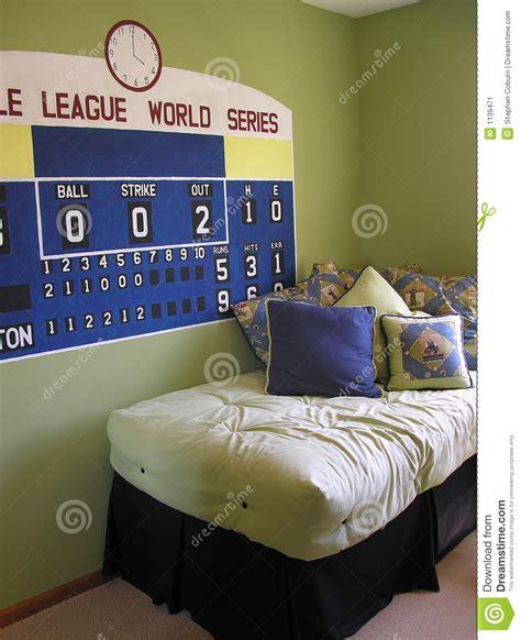 baseball themed bedding baseball themed bedroom stock image image 1139471 1494