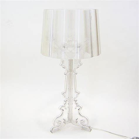 kartell bourgie l silver bourgie silver table l design and decorate your room