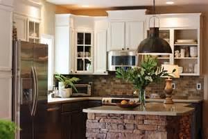 Kitchen Rock Island Living The Crafty Kitchen Cabinet Makeover