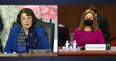 senator feinsteins opening statement  amy coney barrett