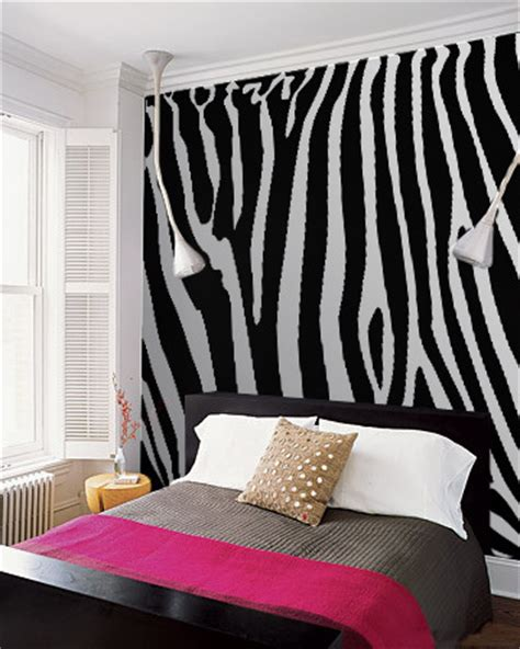 zebra wall decor bedroom everyone zebras 10 striped interior musts