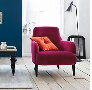 fauteuils velours mobilier canape deco With tapis rouge avec canapé velours violet