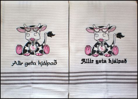 Cool Machine Embroidery Designs For Kitchen Towels On