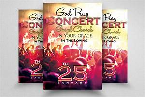 Praise And Worship Concert Flyer