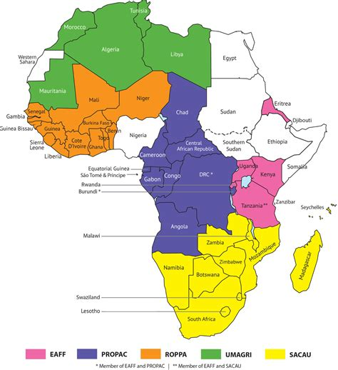east africa political map  travel information