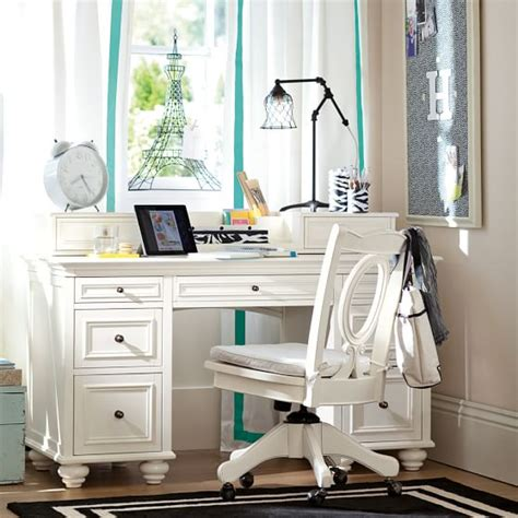 Pottery Barn White Desk With Hutch by 2017 Pbteen Study And Save Sale Up To 40 Desks