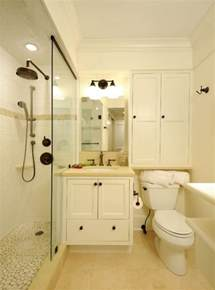 small bathrooms with clever storage spaces - Small Bathroom Cabinet Ideas