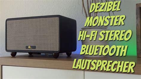 bluetooth lautsprecher stereo gross laut retro 1byone hi fi stereo bluetooth lautsprecher mit richtig viel bumms test