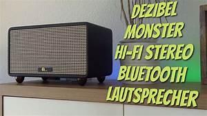 Bluetooth Lautsprecher Laut : gross laut retro 1byone hi fi stereo bluetooth lautsprecher mit richtig viel bumms test ~ Eleganceandgraceweddings.com Haus und Dekorationen