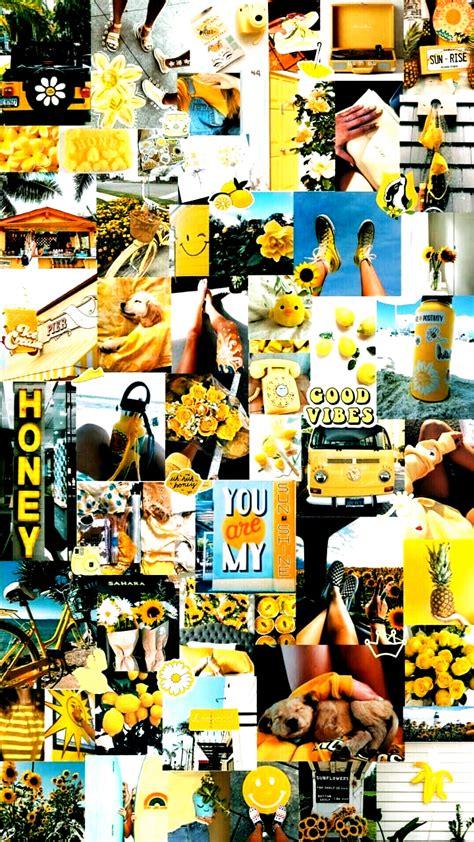 iphone wallpaper yellow aesthetic lockscreen