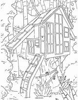 Coloring Tree Pages Adult Printable Colouring Awesome Sheets Template Christmas sketch template
