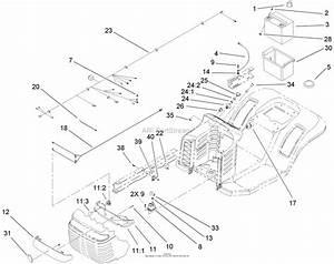 Toro 71427  Xl 380 Lawn Tractor  2005  Sn 250000001