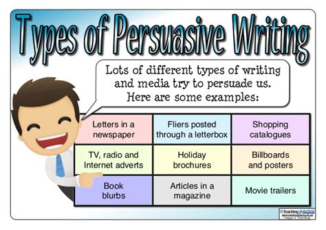 Persuasive writing features ks2