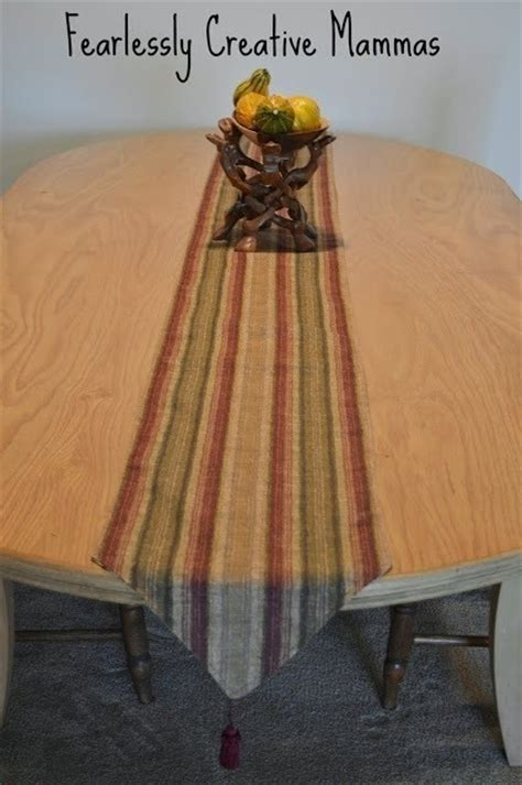 fall table runners to make fall table runner how to make a tablecloth table