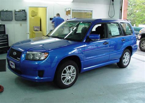 subaru forester car audio profile