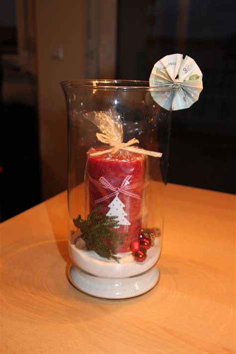 anleitung weihnachtskerze im glas