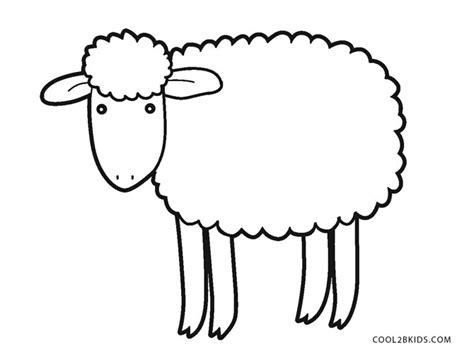 Preschool Lamb Sheet Coloring Pages