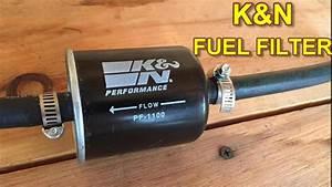 Nissan Maxima K U0026n Fuel Filter Installation