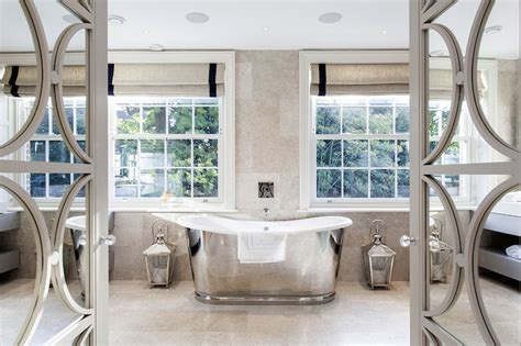 Mirrored Bathroom Doors