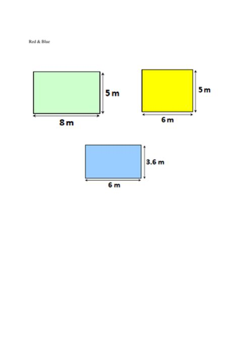 area and perimeter year 5 observation by amberbradley teaching resources tes