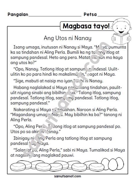 filipino worksheets archives samut samot reading