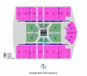 Big Superstore Arena Seating Chart Big