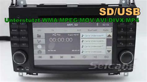 doppel din radio navi 7 zoll doppel din radio navi dvd mercedes vito 639 r 252 ckfahrkamera anschluss cd mp3