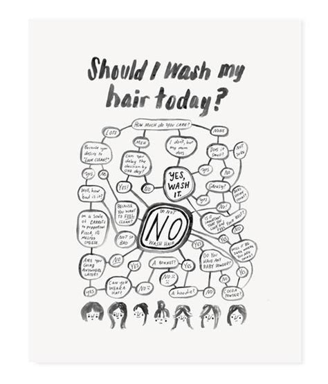 Should I Wash My Hair Today? Iii  Chipper Things