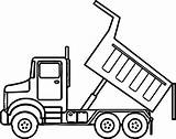 Dump Truck Drawing Coloring Pages Clipart Vector Oogazone Drawings  Paintingvalley Guardado Desde sketch template