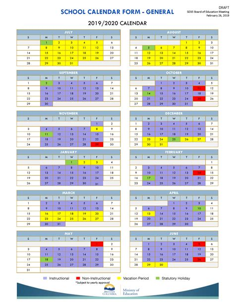 school district langley calendar publicholidaysnet