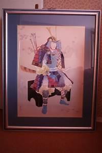 Tableau Deco Maison : tableau samourai japonais cadre d coration maison luckyfind ~ Teatrodelosmanantiales.com Idées de Décoration