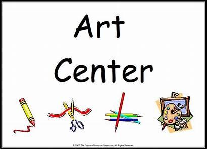 Preschool Center Signs Clipart Printable Library Manipulative