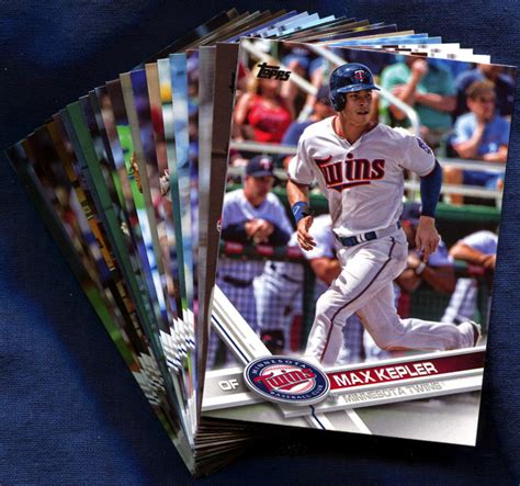 For rare player cards, signed baseball cards and team trading card sets at steinersports.com. 2017 Topps Minnesota Twins Baseball Cards Team Set