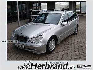Mercedes C220 Cdi 2002 : 2002 mercedes benz c 220 t cdi avantgarde ahk navigation car photo and specs ~ Medecine-chirurgie-esthetiques.com Avis de Voitures