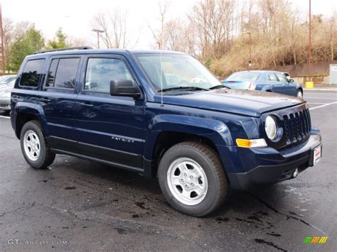 patriot jeep blue true blue pearl 2012 jeep patriot sport exterior photo