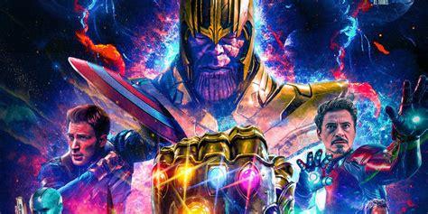 Avengers 4 Fan Poster Assembles Captain Marvel & Infinity