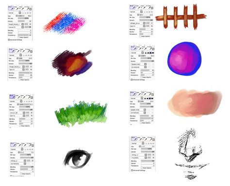 brushes type for paint tool sai 3 by ryky deviantart